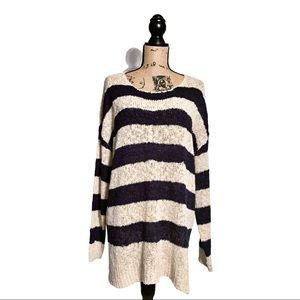 Listicle Open Knit Beachy Sweater. NWT